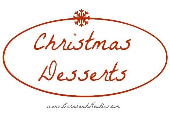 Christmas Desserts | Christmas | Pinterest