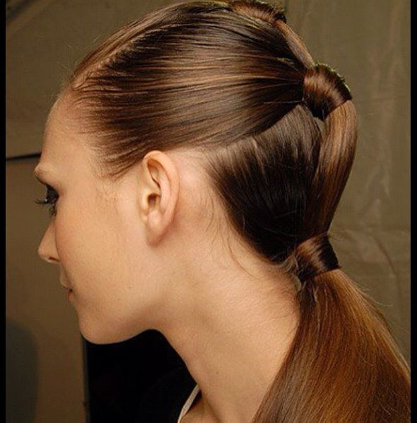 really cool hairstyles : Very cool braid ponytails. Hairstyles, Haircuts and Hairdos Pinte ...