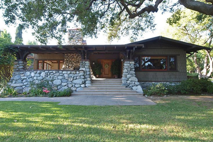 The Lacey House Pasadena Craftsman Style Pinterest