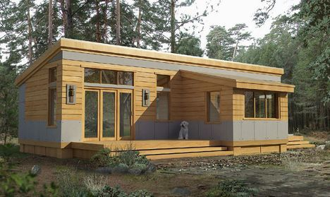 Image for bainbridge pod architecture pinterest for Modern house under 100k