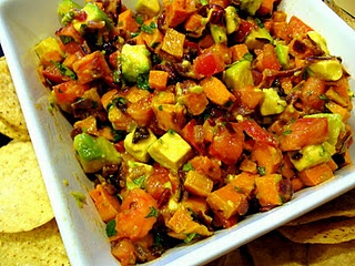 Roasted Sweet Potato Salsa | Potato recipes | Pinterest