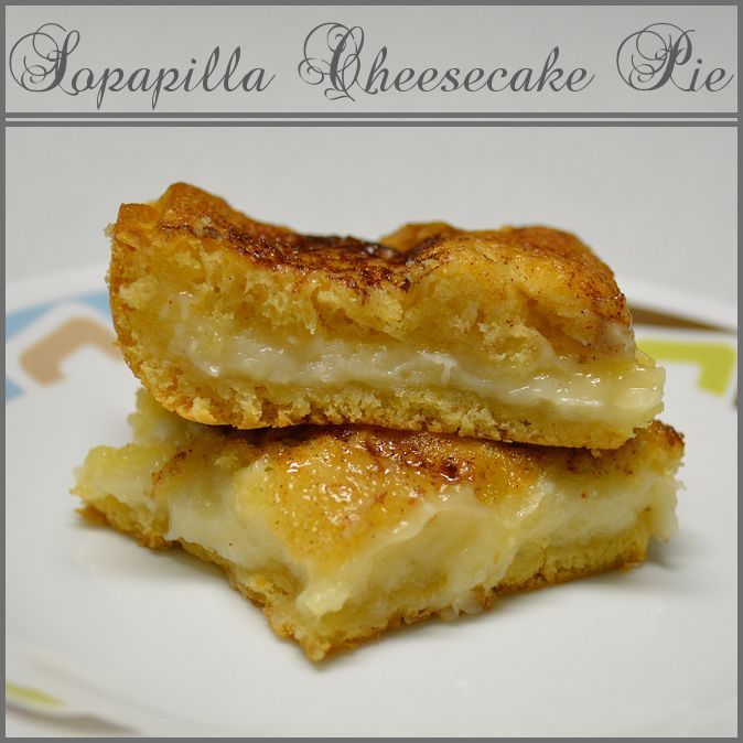 Sopapilla Cheesecake Pie - a quick and delicious way to use up some ...