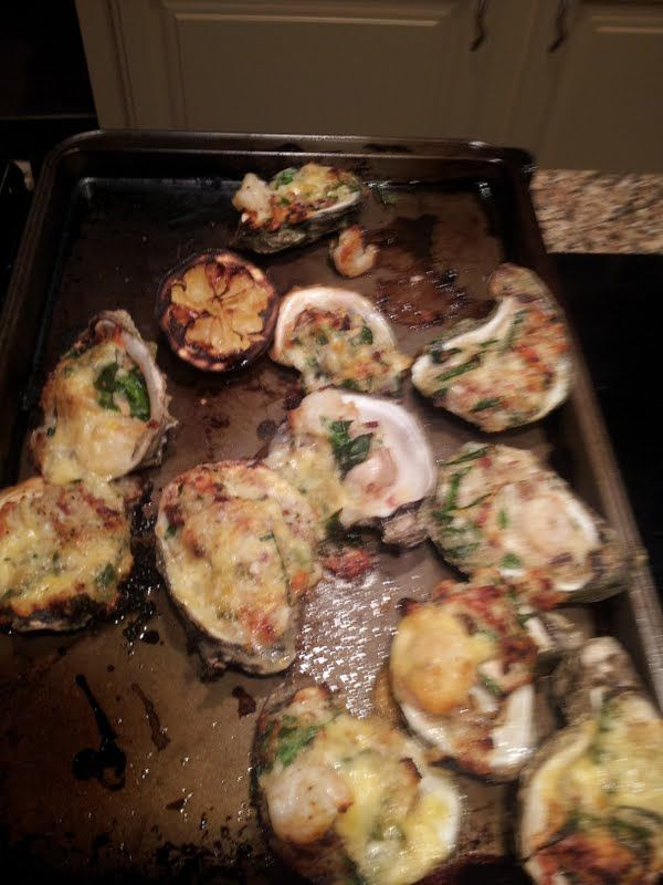 grilled oysters | Culinaria | Pinterest