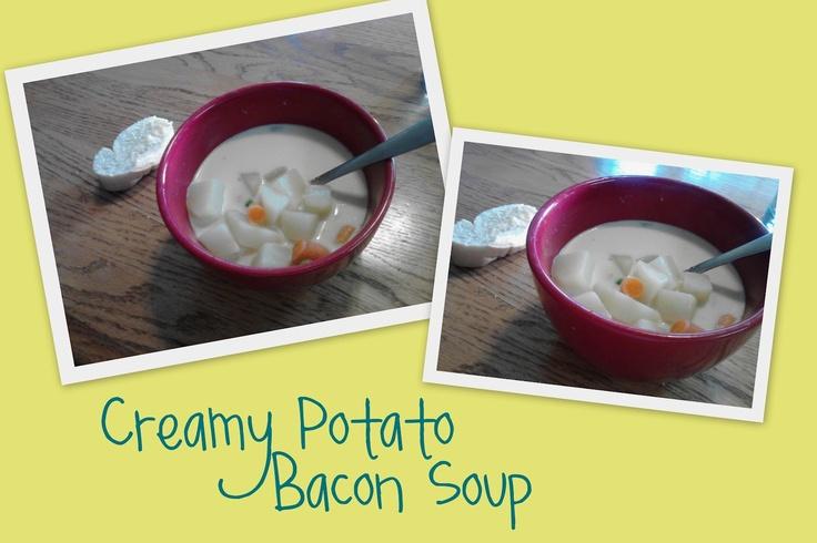 Creamy Potato Soup With Bacon Vinaigrette Recipes — Dishmaps