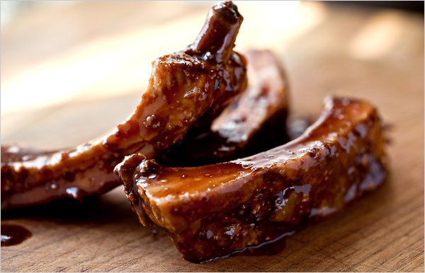 Sweet-sour balsamic-glazed pork ribs inspired by Animal in Los Angeles ...