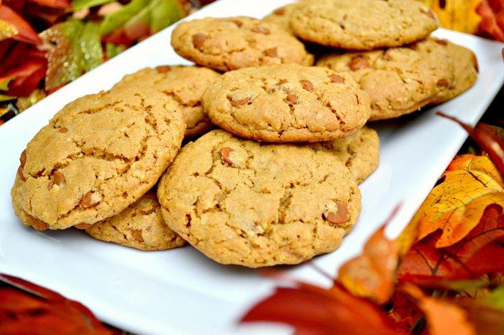 Pumpkin Oatmeal Cinnamon Chip Cookies | Let's Eat: Pumpkin Recipes ...
