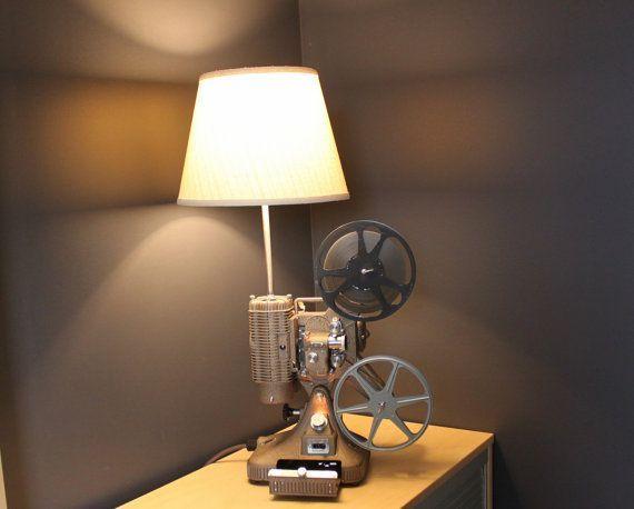 Movie Camera Lamp | Home Decor | Pinterest