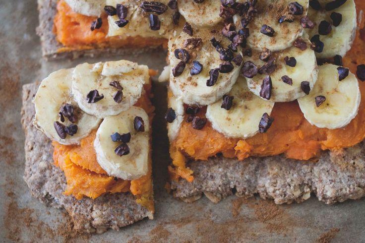cinnamon sweet potato & banana pizza | Recipe Box | Pinterest
