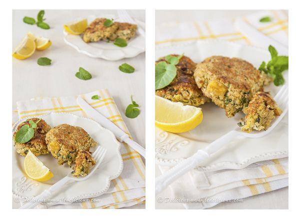 Zucchini and Haloumi Quinoa Patties - these patties are healthy ...