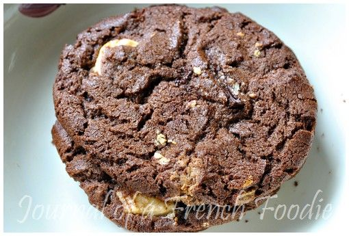 Chewy Chocolate Overload Cookies
