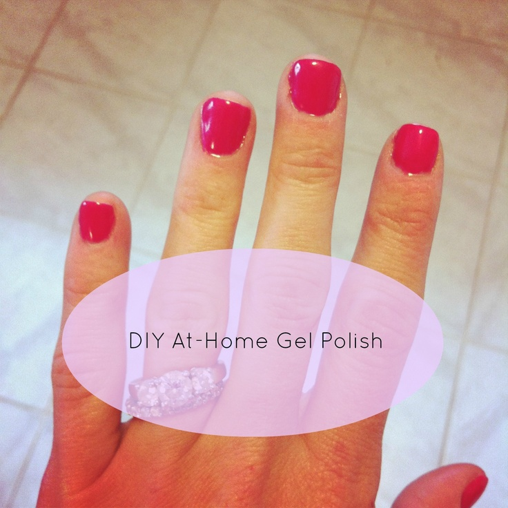 Mommy Musings: At-Home Gel Manicure | Beauty etc. | Pinterest