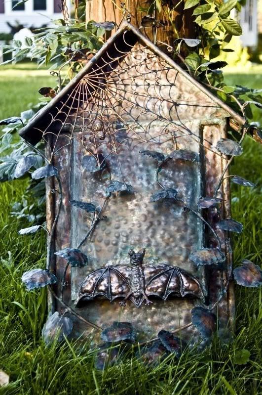 Fanceh bat house webs pinterest for Bat condo