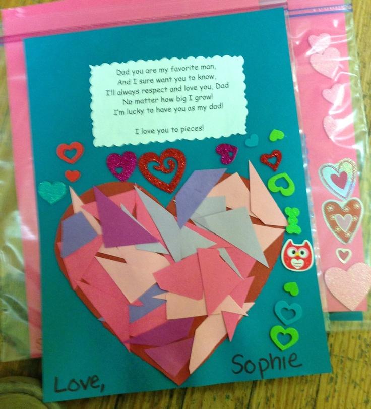 valentines day card dad