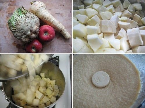 celery root and apple puree | yum. | Pinterest