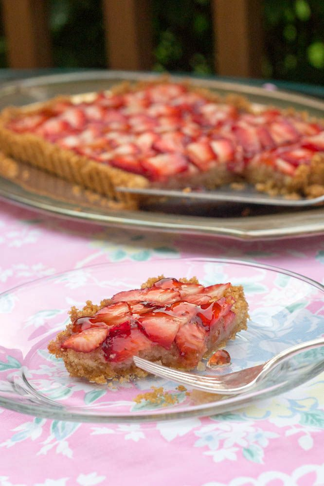 Strawberry Frangipane Tart With Brown Butter Brown Rice Crust (GF ...