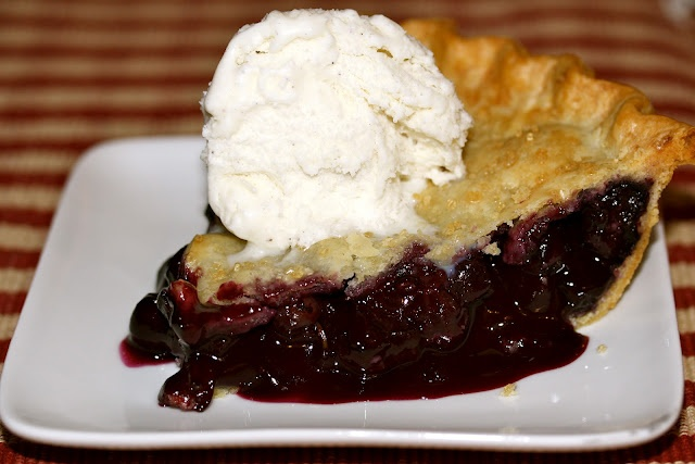 Homemade Blueberry PIe! | food | Pinterest