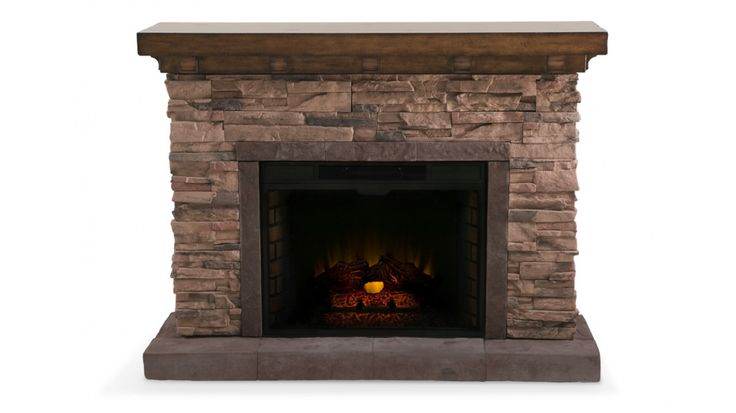 stone electric fireplace fireplace pinterest