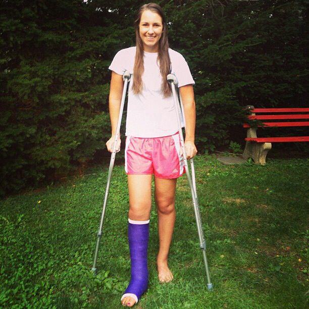 Hot girl slc crutching - 1 part 7