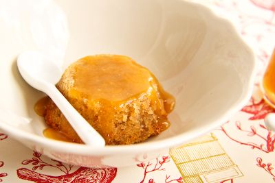 Banana Pudding Cakes with Ginger Butterscotch Sauce
