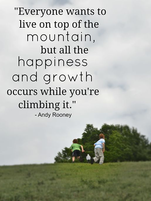 Climbing To The Top Quotes Quotesgram