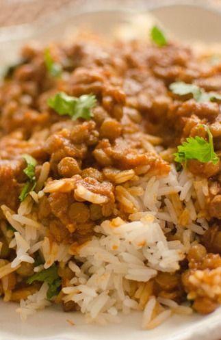 Red Lentil Curry | Pastas & Grains | Pinterest