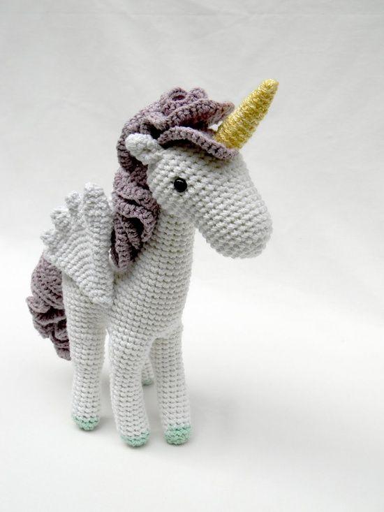 Unicorn Amigurumi : Amigurumi unicorn. Crochet & Amigurumi Pinterest