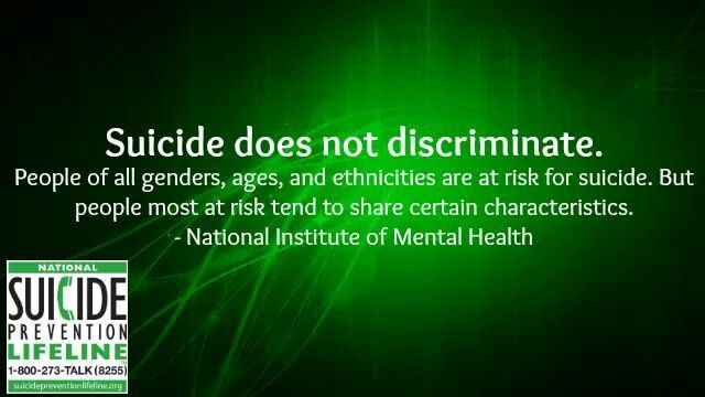 suicide prevention research paper