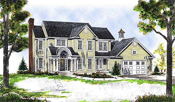 Country european farmhouse house plan 99182 European farmhouse plans