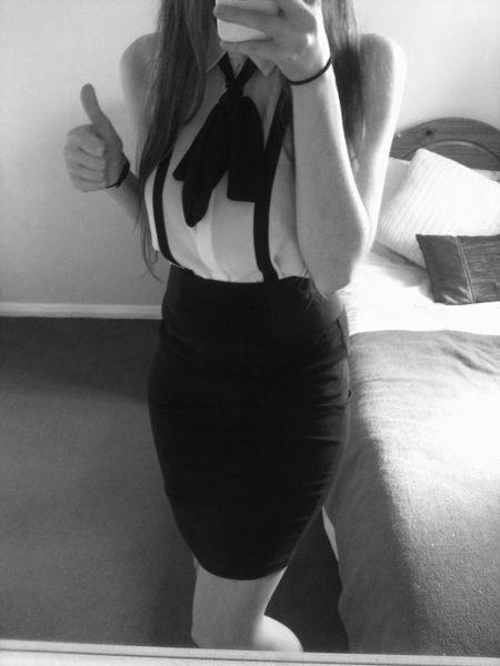 Graduation Blouse And Skirt 24