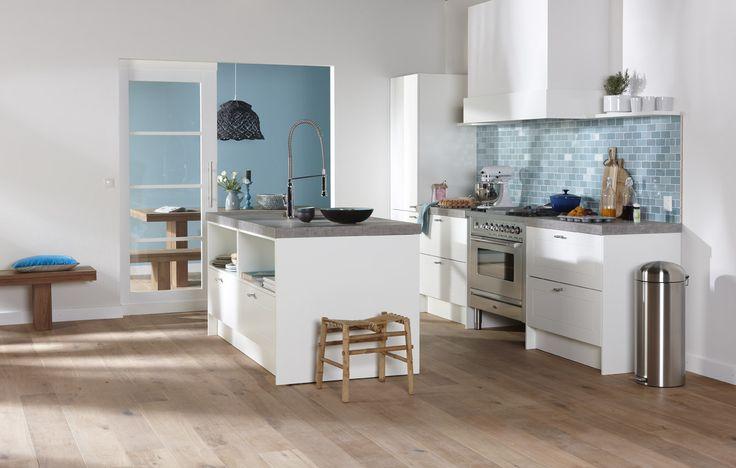 Bruynzeel Keuken Hoogglans Wit : Bolton wit Kitchen / Keuken Pinterest