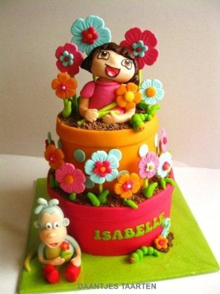 Dora  Cake by Daantje