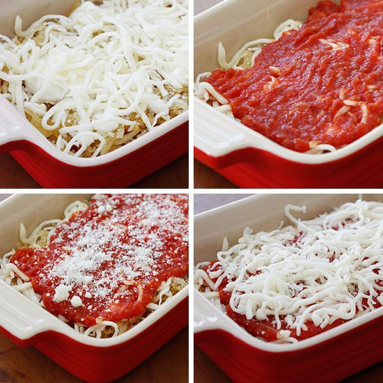 Spaghetti Squash Lasagna | Skinnytaste. | Healthy soups and comfort f ...