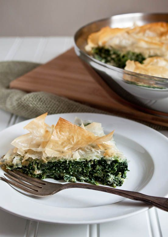 Easy Skillet Spanakopita, one pan to clean and zero bowls. Healthy ...