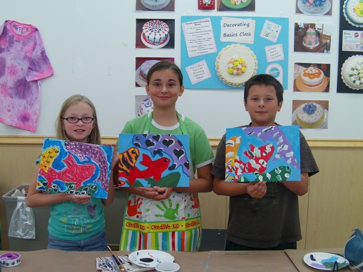 Kids class!  Michael's Workshops - Joley Wiley Fine Art