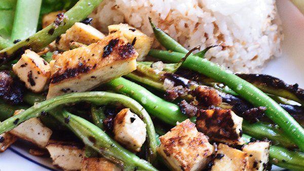 Vietnamese Lemongrass Green Beans Tofu | Low Carb | Pinterest