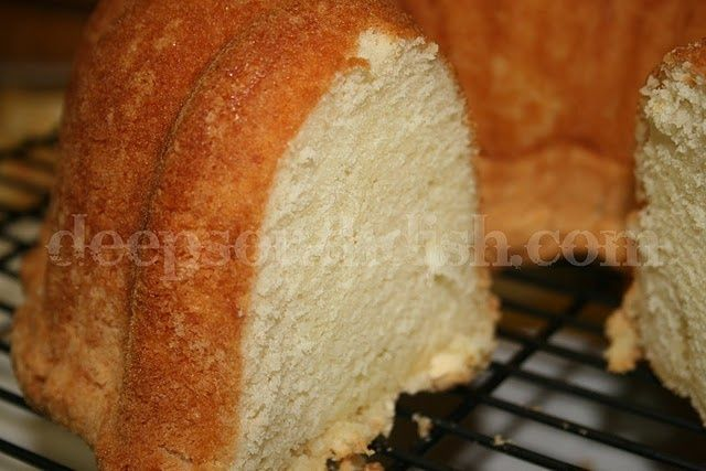 In my mind a perfect pound cake like Grandmas is moist, tender, light ...