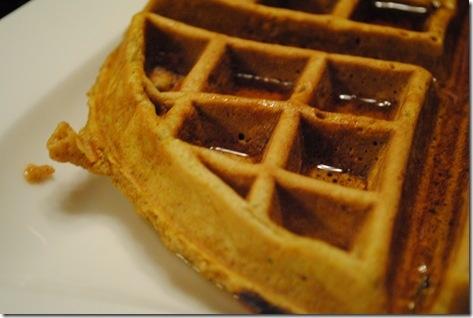 Pumpkin Spiced Waffles | All Things Pumpkin | Pinterest