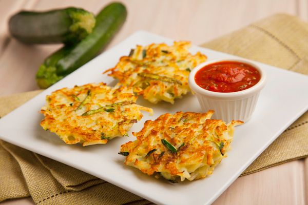 Parmesan, and Hungry Jack® Potatoes, the Zucchini Parmesan Cakes ...