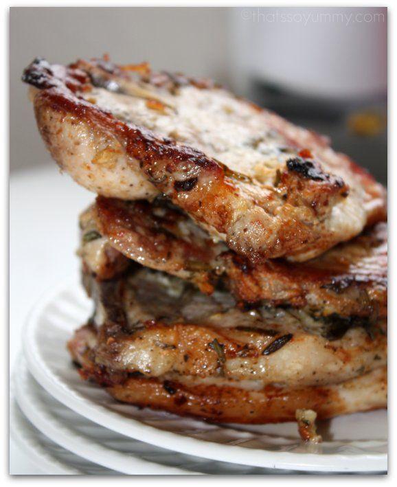 Rosemary Pork Chops | Gluten Free | Pinterest