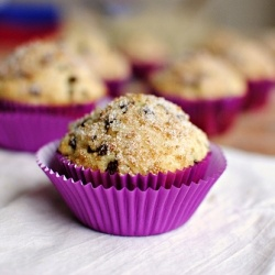 Sugar Crusted Chocolate Chip Muffins   Breads and Pastries to Try   P ...