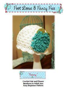 Crochet Hat Pattern Flapper Style with Fluffy Crochet