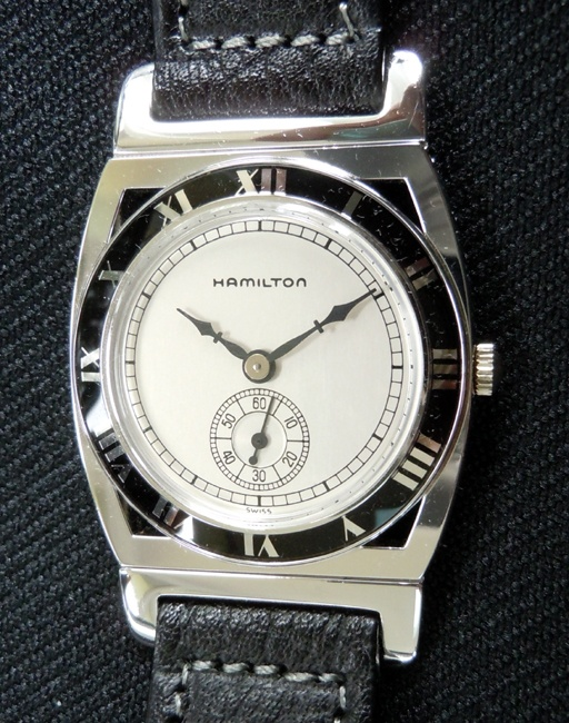 The Hamilton Piping Rock watch. I hope I'll own one someday.