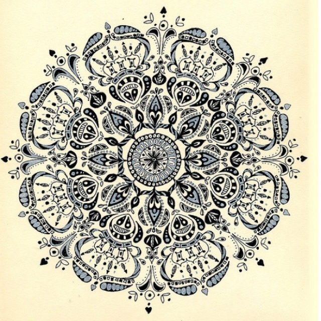 Intricate Designs Colouring Pages page 2
