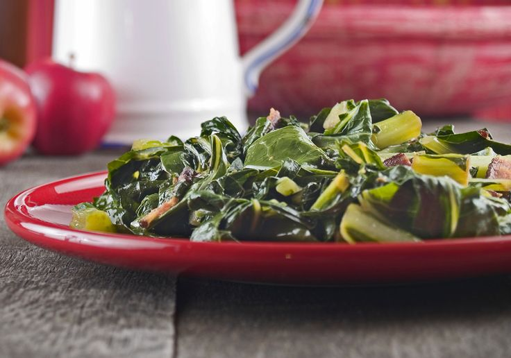 Collard Greens with Bacon | Come dine with me Canada | Pinterest