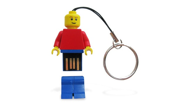 Lego with USB pendrive USB