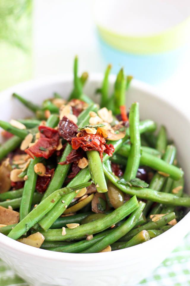 Green Beans, Olives And Sundried Tomato Salad   Recipe