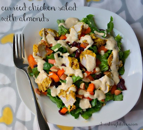 ... chicken salad with almonds almond crusted chicken salad with creamy