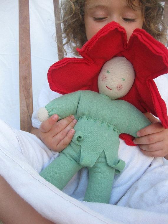 sweet flower doll!