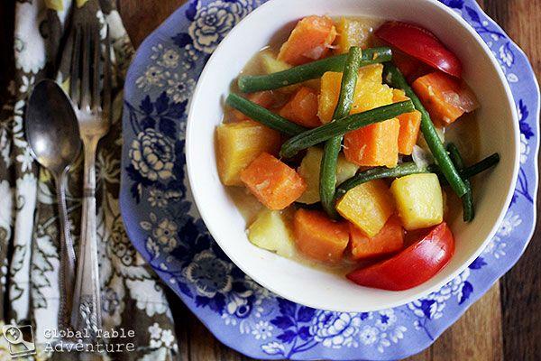 Autumnal Veggies in Spiced Coconut Milk (including butternut squash ...