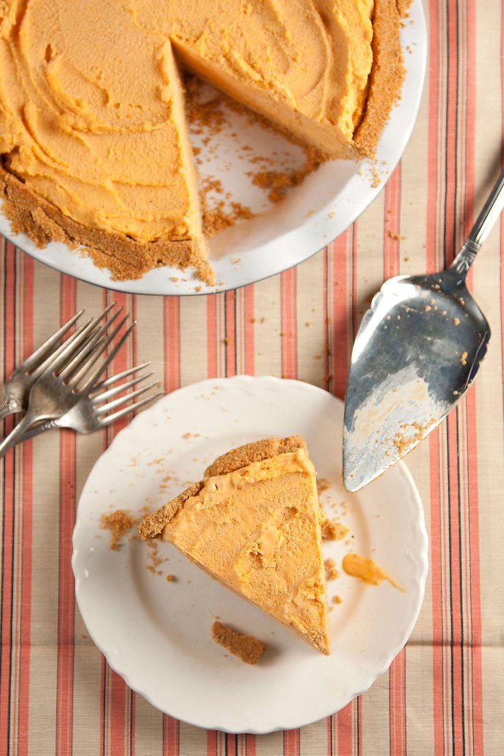 Pumpkin Pie Ice Cream Pie